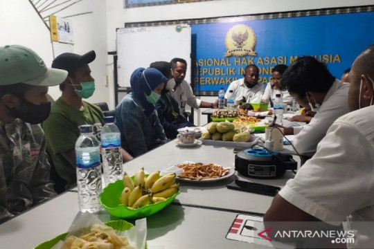 Nakes korban KKB Kiwirok mengadu ke Komnas HAM Papua