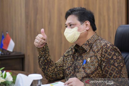 Menko Airlangga: Realisasi PEN capai 53 persen hingga 17 September