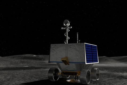 NASA akan kirim robot penjelajah es ke Kutub Selatan Bulan