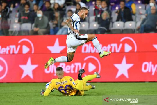 Liga Italia: Inter Milan kalahkan Fiorentina 3-1