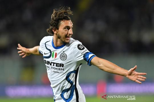 Inter lanjutkan tren positif kala bekuk sepuluh pemain Fiorentina