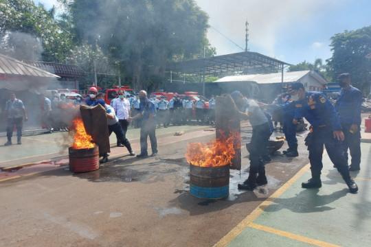 Rutan Salemba gelar pembekalan pegawai untuk antisipasi kebakaran