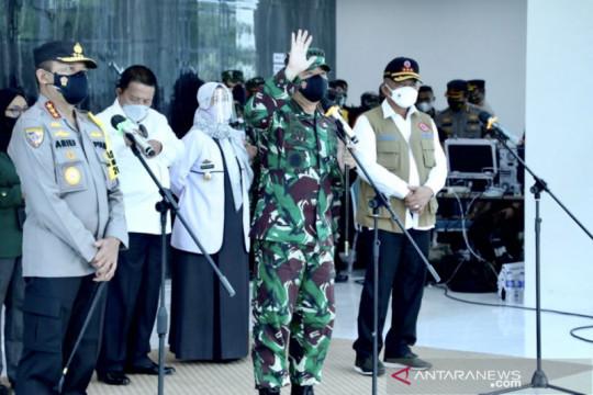 Panglima TNI siap bantu mempercepat vaksinasi COVID-19 di Lampung