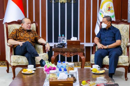 Bupati Wajo temui Ketua DPD RI bahas revitalisasi masjid