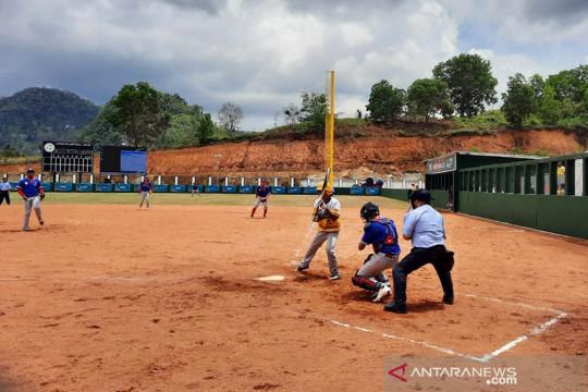 Softbol putra Lampung vs Sulteng awali pertandingan PON XX