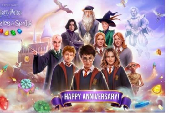 Harry Potter: Puzzles & Spells, rayakan ulang tahun pertama