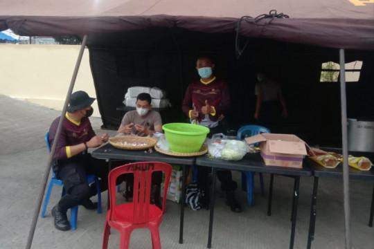 Polres Purbalingga dirikan dapur umum bagi siswa yang jalani isolasi