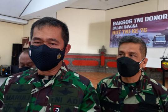 Sambut HUT ke-76 TNI, Kodam IX/Udayana gelar donor darah serentak