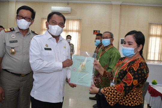 1.000 sertifikat tanah di Serdang Bedagai-Sumut diserahkan bagi warga