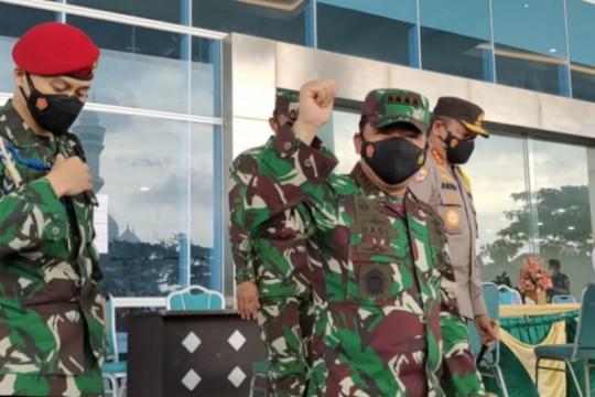 Panglima TNI minta akselerasi vaksinasi di Lampung