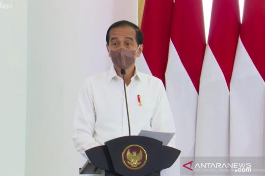 Presiden: Saling bantu tanpa lihat perbedaan kunci bangsa tangguh