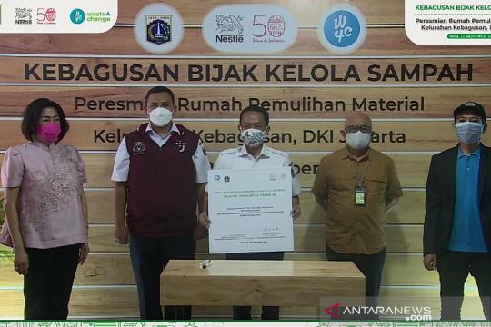 Nestle resmikan Rumah Pemulihan Material Kebagusan di Jakarta Selatan