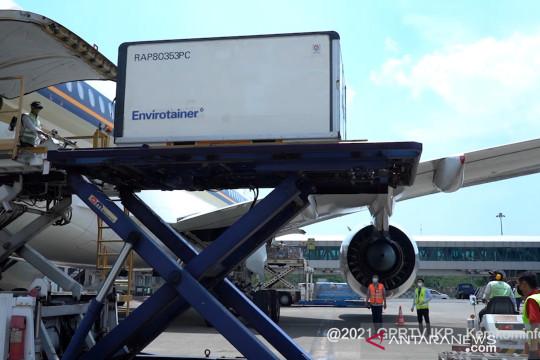 Indonesia terima kedatangan 684.900 dosis AstraZeneca tahap ke-73
