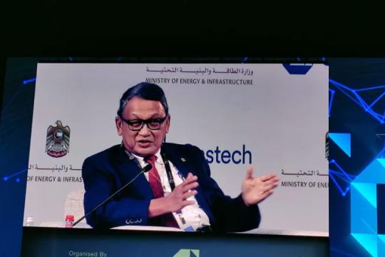 Di Gastech, Menteri ESDM: Gas berperan penting dalam transisi energi