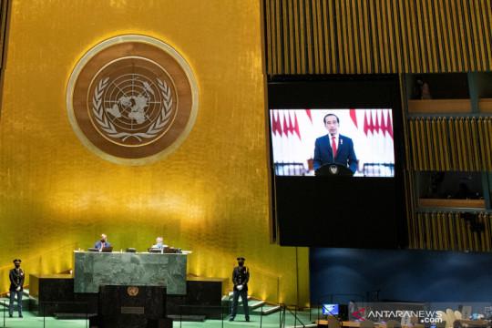 Pidato Presiden Joko Widodo di Sidang Umum ke-76 PBB