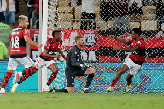 Bruno Henrique antar Flamengo pegang kendali final Copa Libertadores