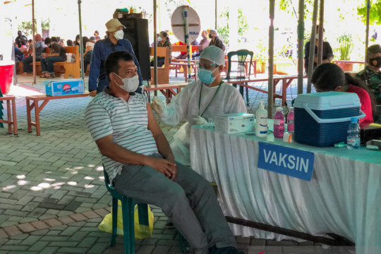 70 persen warga Kota Yogyakarta sudah jalani vaksinasi COVID-19