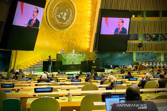 Presiden Jokowi jelaskan komitmen Indonesia saat pimpin G20 2022