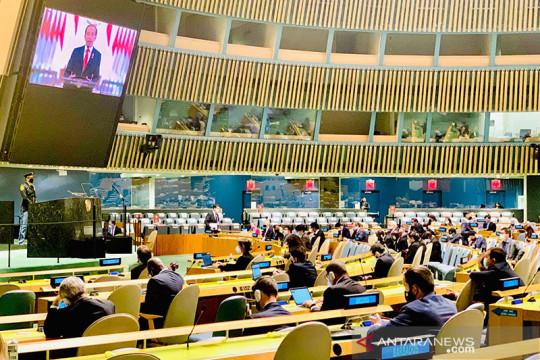 Presiden Jokowi sampaikan empat sikap dalam Sidang Majelis Umum PBB