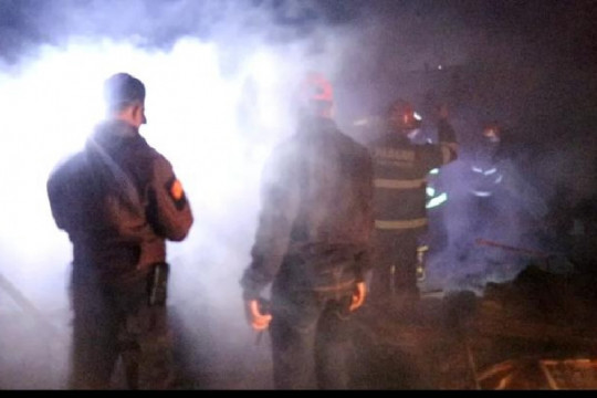 Satu warga tewas dalam peristiwa kebakaran di Padang