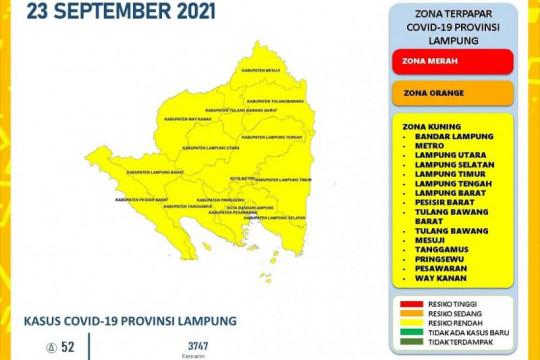 Dinkes laporkan kasus harian COVID-19 di Lampung bertambah 52 orang
