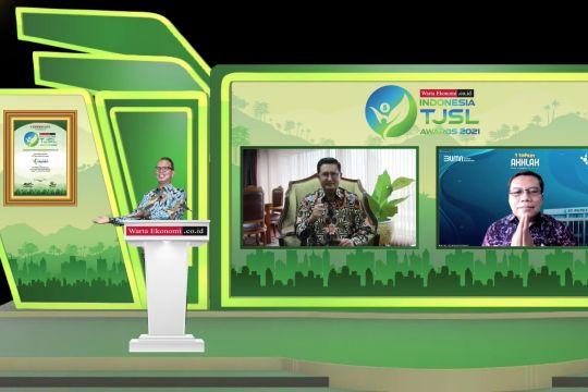 Pupuk Indonesia raih Indonesia Best TJSL Award 2021