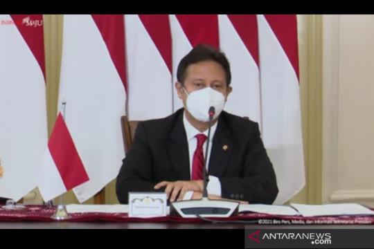 Presiden Joko Widodo hadiri Global COVID-19 Summit