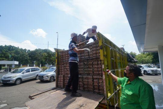 PT Berdikari serap 34 ton telur ayam dari peternak
