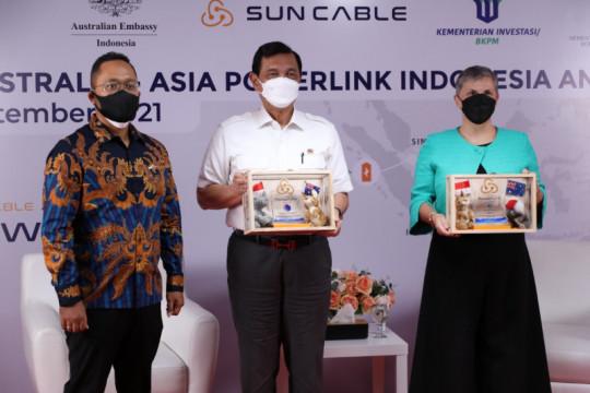 Indonesia raih 2,58 miliar dolar dari proyek ekspor listrik Australia