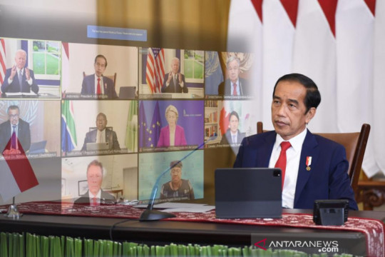 Presiden Jokowi dorong penguatan sistem ketahanan kesehatan dunia