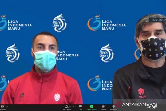 Teco minta Bali United kerja keras kalahkan Persita