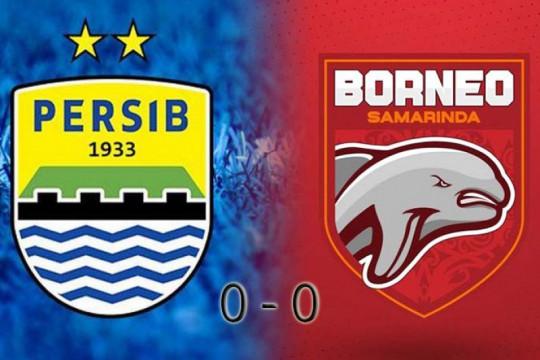 Persib Bandung ditahan imbang Borneo FC tanpa gol