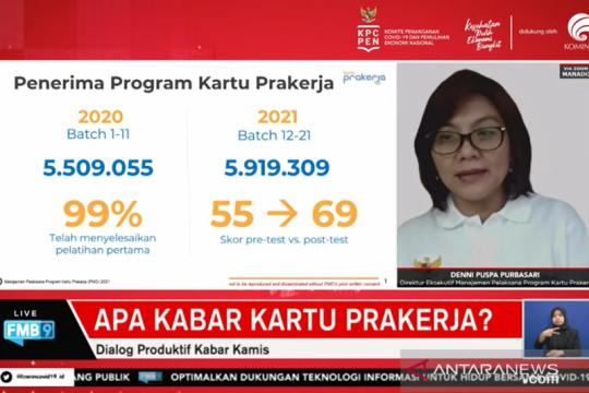 Kartu Prakerja dinilai berhasil tingkatkan keterampilan peserta
