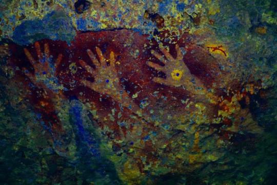 Tim arkeolog temukan 150 gambar cadas prasejarah di Pulau Kisar