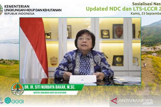Menteri LHK: Pembaruan NDC tunjukkan peningkatan komitmen Indonesia