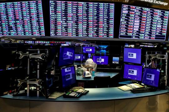 Wall Street dibuka, Saham AS menguat  jelang keputusan The Fed