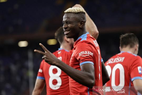Napoli lanjutan catatan sapu bersih saat cukur Sampdoria