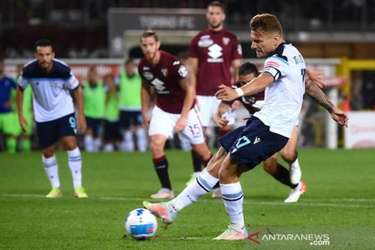 Penalti larut Ciro Immobile hindarkan Lazio dari kekalahan di Torino