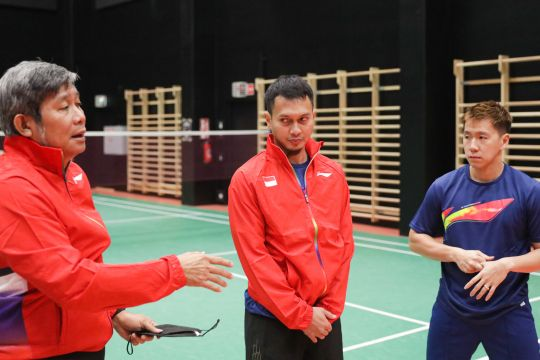 Latihan hari kedua pulihkan kondisi tim Piala Sudirman