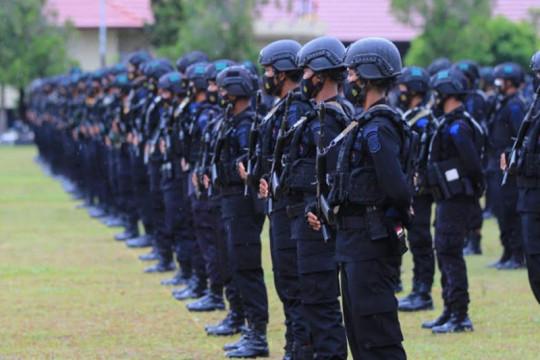 Polda Kalteng kirim dua kompi Brimob amankan PON Papua