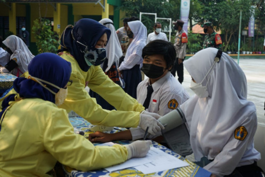 59.157 pelajar di Kabupaten Tangerang telah divaksin COVID-19