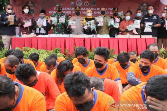 Polisi Surabaya tetapkan 120 tersangka penyalahguna narkoba
