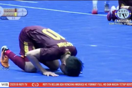Tim futsal Sulsel catat kemenangan perdana usai tekuk Maluku Utara 4-1