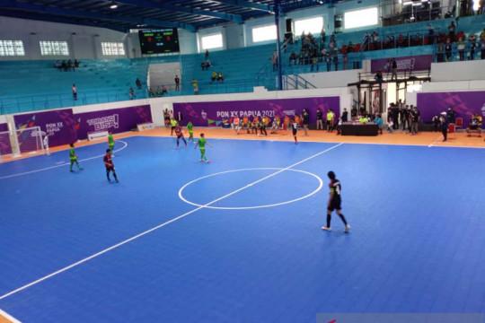 Tim Futsal Papua kantongi kemenangan atas Sumut