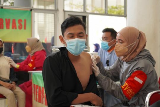 Itera vaksinasi mahasiswa guna mendukung perkuliahan tatap muka