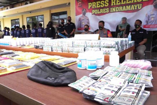 Polres Indramayu tangkap bandar besar obat keras tanpa izin