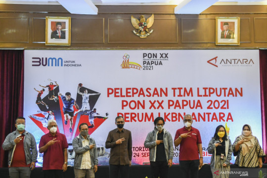 ANTARA siap berikan energi positif bagi bangsa lewat PON XX Papua