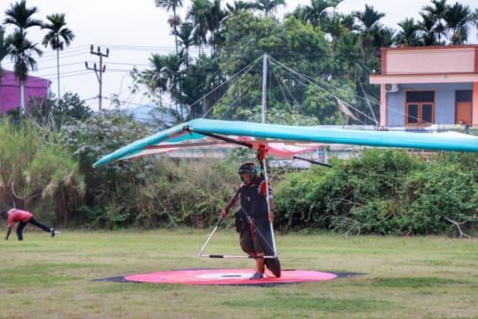Atlet gantole Sumbar unggul di kategori ketepatan mendarat