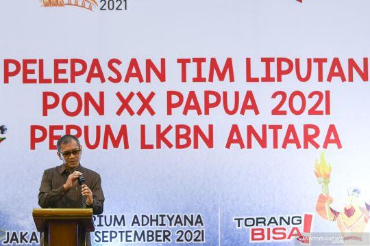 Kantor Berita ANTARA lepas keberangkatan tim peliput PON Papua
