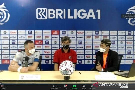 Teco puas Bali United petik tiga poin bagus dari Persita